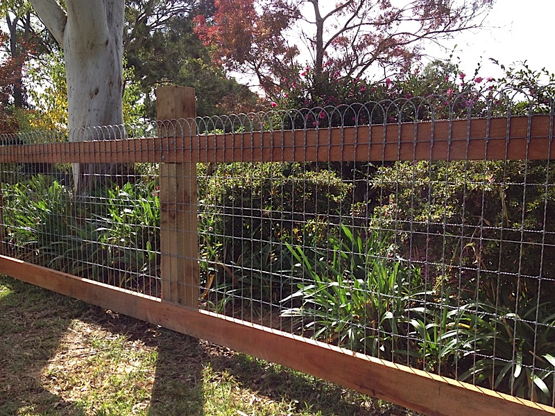 Feature Fences Ironbark Fencing