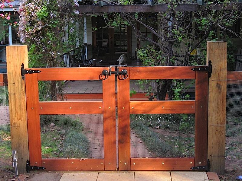 merbau gate